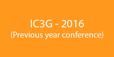 Previous IC3G conferences